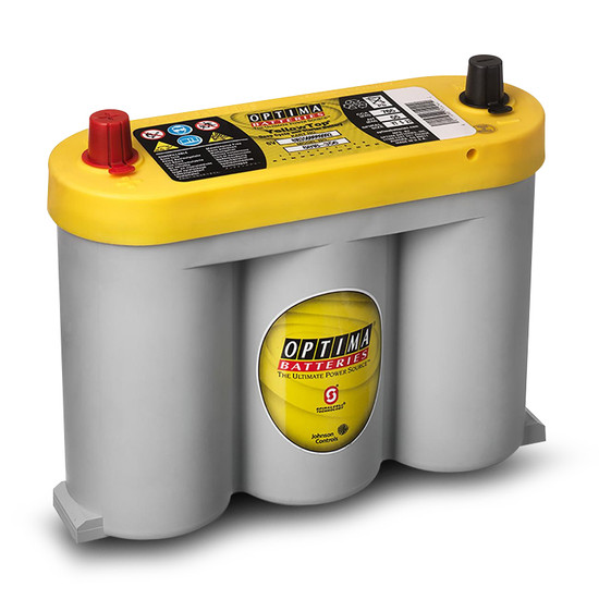 Optima DCV6 6V 55Ah Yellow Top Deep Cycle Starting Battery