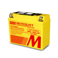 Motobatt MPL14B4-HP 4.0Ah 280CCA Lithium Motorcycle Battery with Balance & Protection System