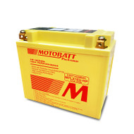 Motobatt MPLX16U-HP 5.0Ah 370CCA Lithium Motorcycle Battery with Balance & Protection System