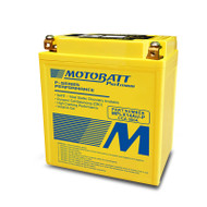 Motobatt MPLX14AU-P 4.4Ah 300CCA Lithium Motorcycle Battery with Balance System