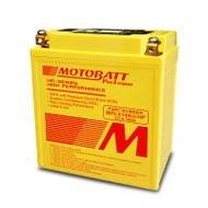 Motobatt MPLX14AU-HP 4.4Ah 300CCA Lithium Motorcycle Battery with Balance & Protection System