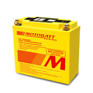 Motobatt MPLX14AU-HP 5.0Ah 370CCA Lithium Motorcycle Battery with Balance & Protection System