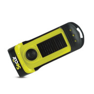 Secur SP-1002 Waterproof Solar Dynamo LED Flashlight