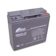 Fullriver HGL22-12 HGL Series 12V 22Ah General Purpose AGM Valve-Regulated Lead Acid Battery