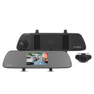 "Parkmate MCPK-502DVR 5.0"" Touch Screen Mirror DVR with 1080P Front & Rear Recording"