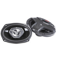 "JVC CS-V6938 DRVN Series 6""x9"" 3-Way Coaxial 400W Speakers System"