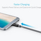 Anker A8188ZA1 PowerLine+ MacBook/Android USB C To USB C Cable 1.8m - Grey