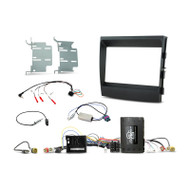 Aerpro FP8506K 2-DIN Install Kit to Suit Porsche Panamera - Non Amplified/ParkingAssist Display