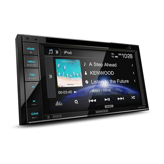 """Kenwood DDX419BT 6.2"""" AV Receiver with Bluetooth/Spotify and USB Connectivity"""