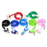 SQ Group SQIPHONE4V2 5x iPhone 4 Cables (Multi-Colour)