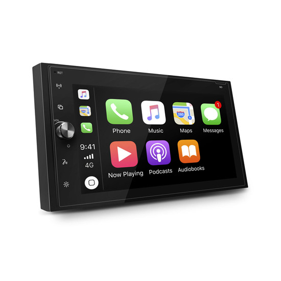 "Axis AX1870CP 6.8"" Apple CarPlay/Android Auto Mechless Multimedia System"