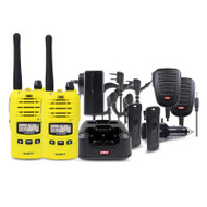 GME TX6160YTP 5 Watt IP67 UHF CB Handheld Radio - Yellow(Twin Pack)