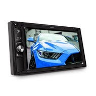 """Axis AX1860NAV 6.2"""" Double DIN 12/24V Android Multimedia System w/ Waze Navigation and Wi-Fi"""