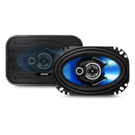 """Axis AX463 4x6"""" 200W 3-Way Coaxial Speaker System"""