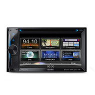 Clarion VX603AU 2-DIN DVD Multimedia Station with 6.2-Inch Touch Panel Control