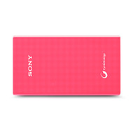 Sony CPV5AP Portable USB Charger 5000mAh - Pink