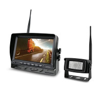 "Axis JS071WK 7"" Heavy Duty Wireless Reversing System w/ Quad Recording and Waterproof Camera"