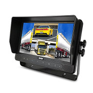 """Axis JS1409Q 9"""" Touchscreen Quad View LED Monitor"""