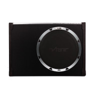 "Vibe BLACKAIRT12S-V6 Black Air Slimline 12"" Passive Radiator Subwoofer Enclosure"