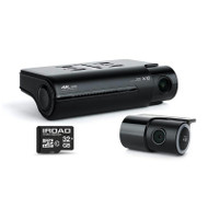 IROAD X10 32GB High-Performance 4K UHD 2-Channel Dash Cam