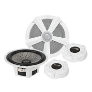"Vibe BA6M-V1 6-1/2"" Black Air Series Marine Component Speakers"