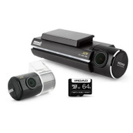 IROAD X9 64GB Full HD 1080P 2-Channel Dash Cam