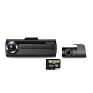 Thinkware F20064K Front and Rear Dash Cam w/ 64GB Micro SD Card
