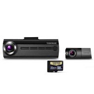 Thinkware F20032K Front and Rear Dash Cam w/ 32GB Micro SD Card
