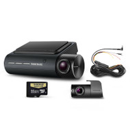 Thinkware Q800PD64 Front and Rear Dash Cam w/ 64GB SD Card