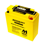 Motobatt MB5.5U 12V AGM Battery