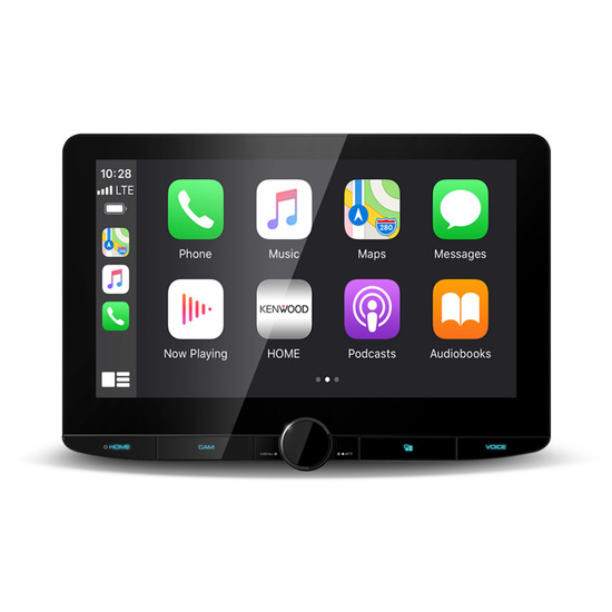 "Kenwood DMX9720XDS 10.1"" Floating HD Wireless Android Auto/Apple CarPlay Receiver"