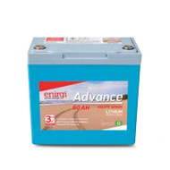 Enirgi AL-12.8-80 Escape Series Lithium Cell Deep Cycle Battery (12.8V, 80Ah)