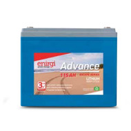 Enirgi AL-12.8-115 Escape Series Lithium Cell Deep Cycle Battery (12.8V, 115Ah)