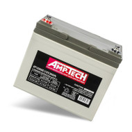 Amp-Tech AT12350D VRLA/AGM Deep Cycle Battery (12V 35Ah)