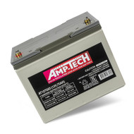 Amp-Tech AT12750D VRLA/AGM Deep Cycle Battery (12V 75Ah)