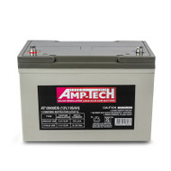 Amp-Tech AT12900DS VRLA/AGM Deep Cycle Battery (12V 105Ah)