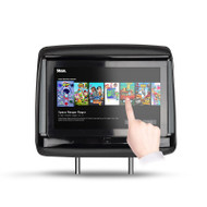 "HiTV S DROID 9"" Universal Structure In-Car DVD Headrest + Smart TV with Touch Screen & 4K Media Playback"
