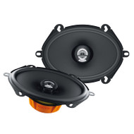 "HERTZ DCX570.3 DIECI 5 X 7"" 2-WAY COAXIAL SPEAKERS 120W"