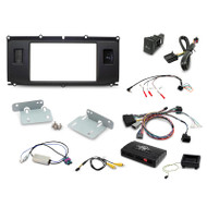 Aerpro FP8200K Double DIN Dark Grey Install Kit to Suit Land Rover - Range Rover Evoque