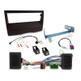 Aerpro FP8497K Single DIN Black Install Kit to Suit Volvo - Various Models