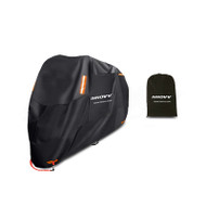 INNOVV Motorcycle Cover With 4 Reflective Points, Lock Hole & Designed To Suit Most Bikes (265x105x125cm)
