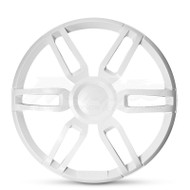 """Fusion XS-X10SPW 10"""" Sports Grille Cover - White"""