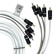 Fusion EL-FRCA6 6' 4-Way Twisted Shielded RCA Cable