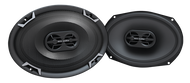"MTX TDX Series TDX693 6"" x 9"" 3-Way 100W RMS 4 Ohm Coaxial Speakers"