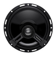 ROCKFORD FOSGATE T1650 POWER 6.5 INCH 2-WAY FULL RANGE EURO FIT COMPATIBLE COAXIAL SPEAKERS 140 WATT