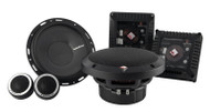 ROCKFORD FOSGATE T1650-S POWER 6.5 INCH 2-WAY EURO FIT COMPATIBLE COMPONANT SPEAKERS 120 WATT