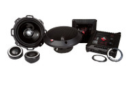 ROCKFORD FOSGATE T252-S POWER ALUMINIUM 5.25 INCH 2-WAY COMPONANT SPEAKERS 150 WATT