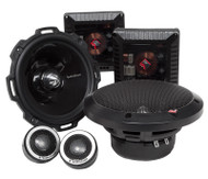ROCKFORD FOSGATE T2652-S POWER 6.5 INCH 2-WAY ALUMINIUM COMPONANT SPEAKERS 200 WATT