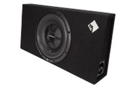 ROCKFORD FOSGATE R2S-1X12 SINGLE PRIME R2S SHALLOW 12 INCH SUBWOOFER ENCLOSURE 500 WATT