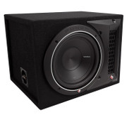 "Rockford Fosgate P1-1X10 Punch Single P1 10"" 500 Watts Max Loaded Enclosure"